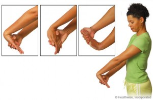 Carpel Tunnel Syndrome Wrist Exercises