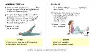 Knee Exercises for Osteo-Arthrosis